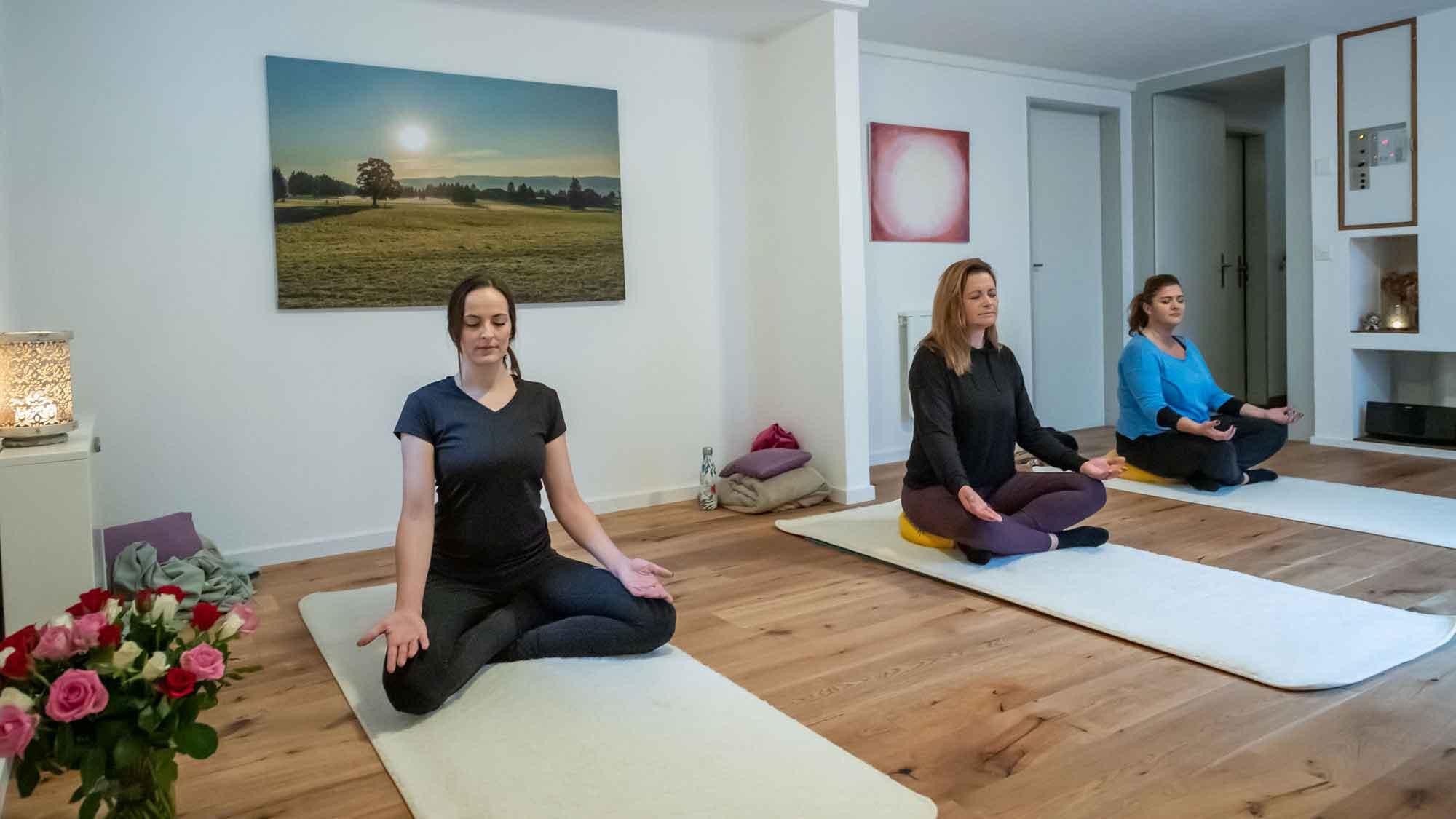 Yoga Weg in die Freiheit Karin Amrein